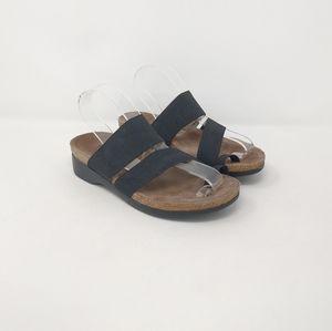 Munro Strappy Comfort Slide Sandals Women's Sz 6